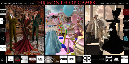 The Month of Games w Logos