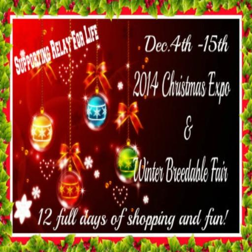 2014 SL Christmas Expo & Winter Breedables Fair Poster