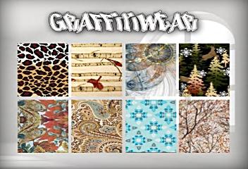 Graffitiwear Winter Scarf Texture Change HUD